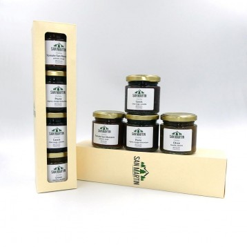 Coffret Découverte 4 Chutneys - Potimarron, Orange, Airelle, Céleri