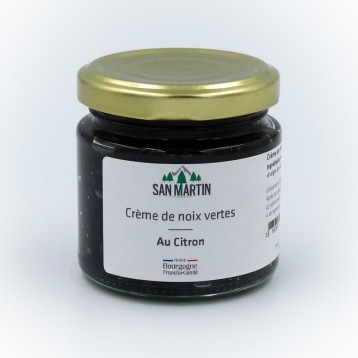 Pickled Walnuts Creme with Lemon