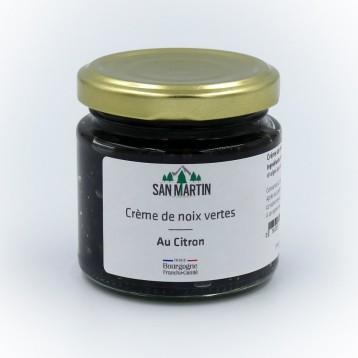 Crème de noix vertes au citron