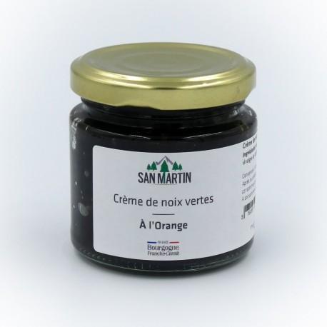 Crème de noix vertes au gingembre