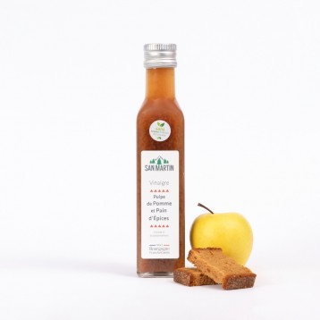 Apple Pulp Fruit and Gingerbread Vinegar