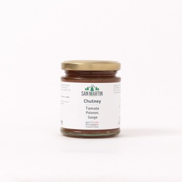 Tomate San Marzano, Poivron, Sauge Chutney