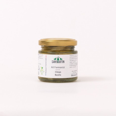 Ail Fermenté - Citron, Basilic