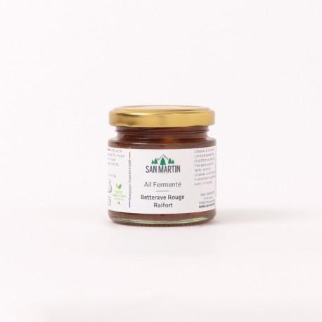 Fermentierter Knoblauch - Rote Beete, Meerrettich