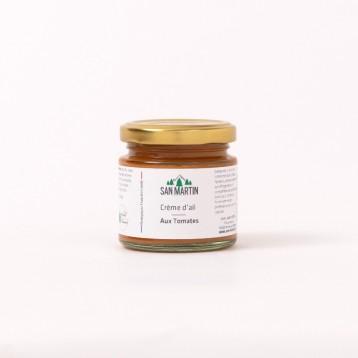 Crème d'ail aux Tomates