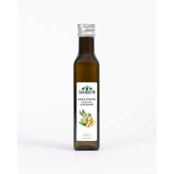 Huile d'olive - Gingembre