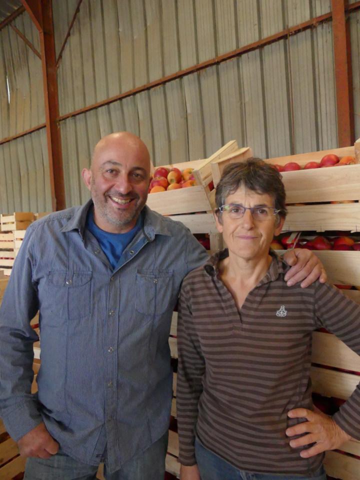 Le Verger Bio de Fouchécourt, Pascale Garret, producteur de pomme bio