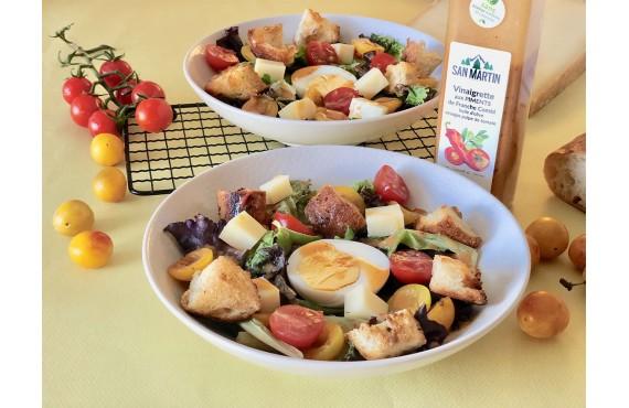 Salade composée à la mirabelle